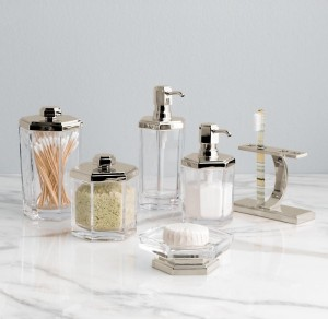 Delightful ..these New Art Deco Inspired U201cStrandeu201d Bathroom  Accessories From Restoration Hardware. Theyu0027re